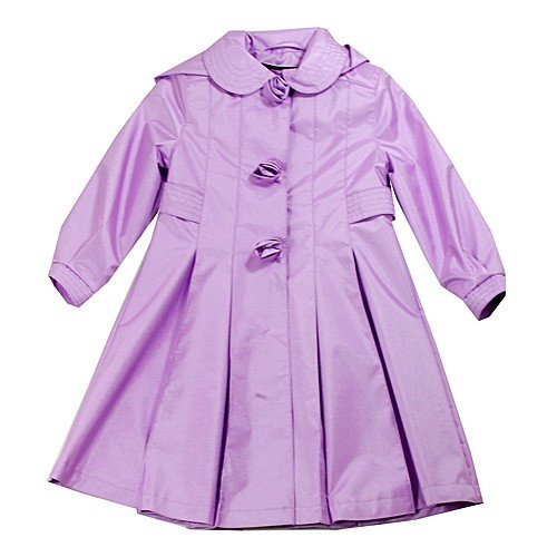 Picture of Rothschild Girls Lilac Lightweight Rose Coat, a Girls Coat at Affordable Price