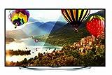 Hisense LTDN58XT880 146 cm (58 Zoll) 3D LED-Backlight-Fernseher, EEK A (Ultra HD, 600Hz SMR, DVB-T/C/S2, CI+, Smart TV, HbbTV, WLAN) silber/schwarz