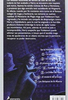 Buchdeckel von Harry Potter y la Orden del Fénix