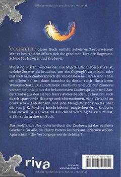 Abdeckungen Das inoffizielle Harry-Potter-Buch der Zauberei: Geheimes Wissen von A wie Accio bis Z wie Zentaur