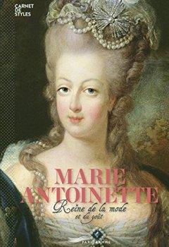Livres Couvertures de Marie-Antoinette - Reine de la mode et du bon goût (version française)