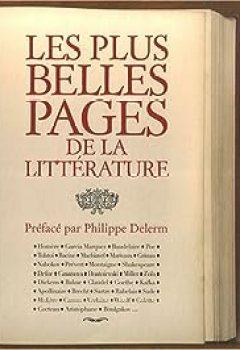 Livres Couvertures de Les plus belles pages de la littérature