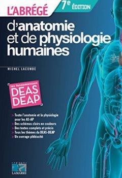 Livres Couvertures de L'abrégé d'anatomie et de physiologie humaines: Les fondamentaux DEAS - DEAP.