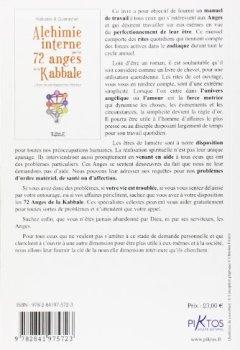 Livres Couvertures de Alchimie interne par les 72 anges de la kabbale