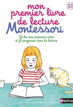 Livres Couvertures de Mon premier livre de lecture Montessori