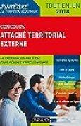 Concours Attaché territorial externe - 2018 - Tout-en-un