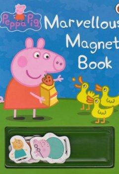 Livres Couvertures de Peppa Pig: Marvellous Magnet Book