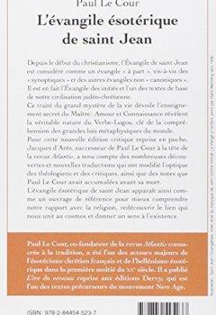Livres Couvertures de L'évangile ésotérique de saint Jean