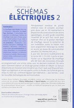 Livres Couvertures de Mémento de schémas électriques, tome 2 : Chauffage, Protection, Communication