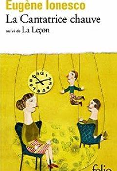 Livres Couvertures de La Cantatrice Chauve - La leçon