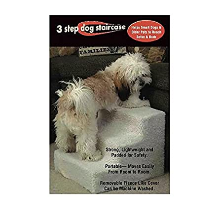 Sturdy Pet Steps help your pals get safely to a favorite spot... and keep you from straining your back. SAVE BIG! Give your pet the greatest gift of all... more companionship with you! Pet Steps are a 3-step unit, essential for small dogs or cats str...