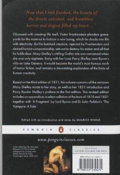 Livres Couvertures de Frankenstein