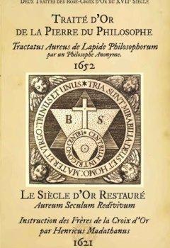 Livres Couvertures de Deux Traites d'Alchimie des Rose-Croix d Or du Xviie Siecle