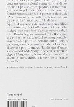 Livres Couvertures de Mémoires de guerre - L'appel : 1940-1942