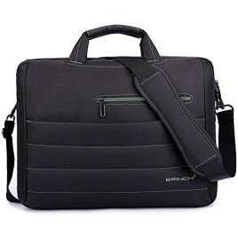 BRINCH-New-Style-Nylon-Shockproof-Carry-Laptop-Case-Messenger-Bag-For-Laptop-Notebook-MacBook-Ultrabook-Chromebook-with-Shoulder-Strap-Handles-and-Various-Pockets-For-Accessories