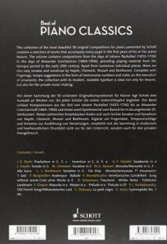 Livres Couvertures de Best of piano classics (50 pièces célèbres) Arrangements de Hans-Gunter Heumann --- Piano
