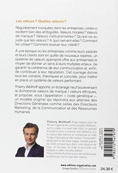 Livres Couvertures de Les valeurs. Donner du sens- Guider la communication - Construire la réputation
