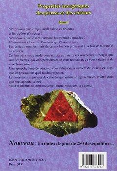 Livres Couvertures de Propriétés énergétiques des pierres et des cristaux