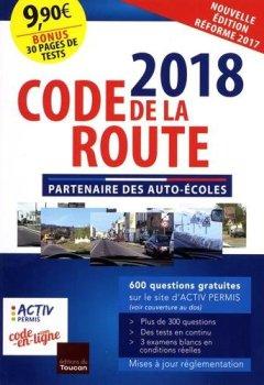 Livres Couvertures de Code de la route 2018