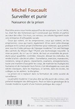 Livres Couvertures de Surveiller et punir: Naissance de la prison