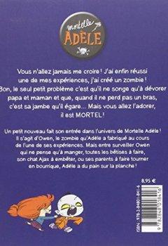 Livres Couvertures de Mortelle Adèle. Un talent monstre (T6)