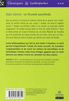 Livres Couvertures de Le Vicomte pourfendu