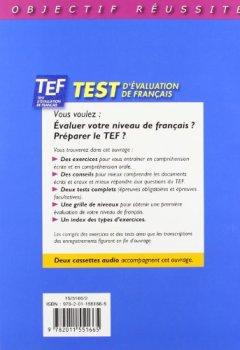 Livres Couvertures de Objectif réussite : TEF - Test d'évaluation de français, Livre de l'élève