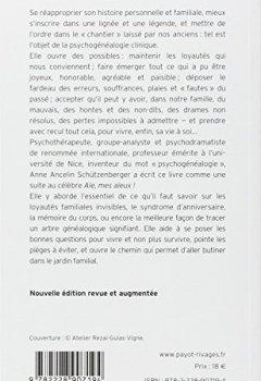 Livres Couvertures de Psychogénéalogie - Nvelle éd.