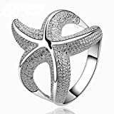 SunIfSnow Fashion Special Personalized Starfish Rings 7