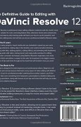 Livres Couvertures de The Definitive Guide to Editing with DaVinci Resolve 12.5