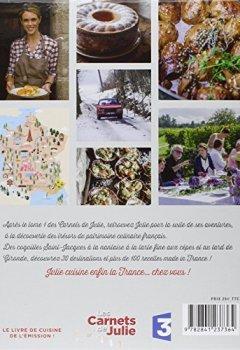 Livres Couvertures de Carnets de Julie (Tome 2) : la suite de son tour de France gourmand