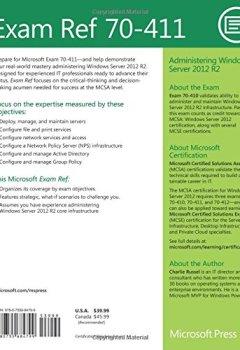 Livres Couvertures de Administering Windows Server® 2012 R2: Exam Ref 70-411