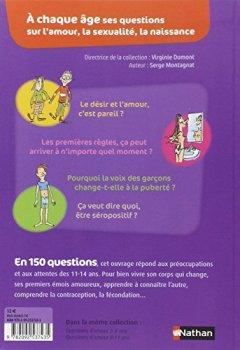 Livres Couvertures de Questions d'amour 11/14 ans