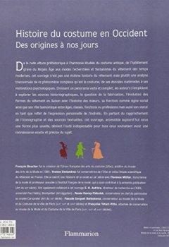Livres Couvertures de Histoire du costume en Occident : Des origines à nos jours