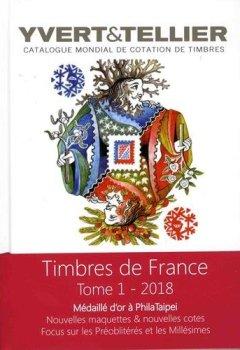 Livres Couvertures de Catalogue Yvert & Tellier de timbres-poste : Tome 1, France, émissions générales des colonies