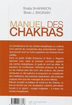 Livres Couvertures de Manuel des chakras : De la théorie à la pratique