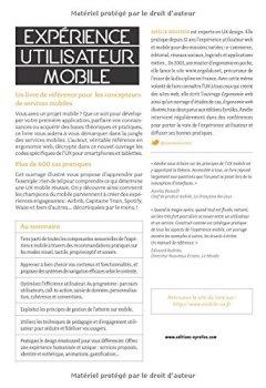 Livres Couvertures de Expérience utilisateur mobile : UX Design pour smartphones et tablettes