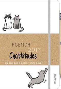 Livres Couvertures de Agenda 2017 Chattitudes: Une année douce et heureuse... comme un chat