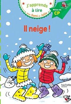 Livres Couvertures de Sami et Julie CP Niveau 2 Il neige
