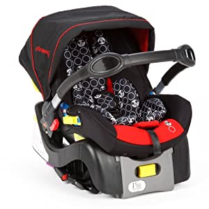 Disney Minnie Mouse Infant Car Seat