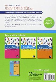 Livres Couvertures de Les cahiers d'écriture nº4 éd. 2014 - Remédiation, aide personnalisée