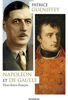 Livres Couvertures de Napoléon et de Gaulle