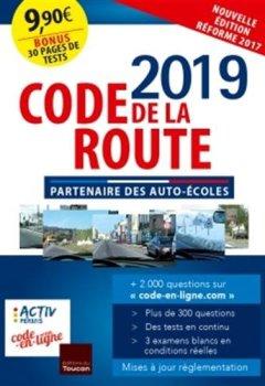 Livres Couvertures de code de la route 2019