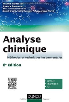 Livres Couvertures de Analyse chimique - 8e éd. - Méthodes et techniques instrumentales