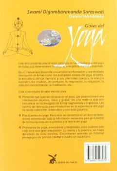 Portada del libro deClaves del yoga. Teoría y práctica