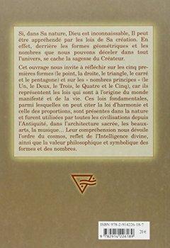 Livres Couvertures de Formes et nombres sacrés