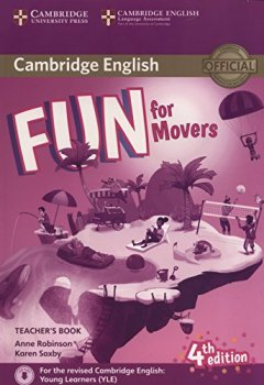 Livres Couvertures de Fun for Movers Teacher's Book with Downloadable Audio