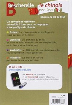 Livres Couvertures de Bescherelle Le chinois pour tous: Écriture, Grammaire, Vocabulaire...