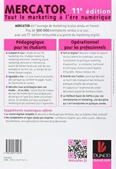 Livres Couvertures de Mercator 11e édition - Tout le marketing à l'ère numérique. Avec e-book