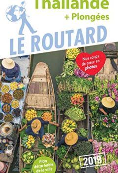 Livres Couvertures de Guide du Routard Thaïlande 2019: (+ Plongées)